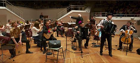 Konzert des Akkordeon-Musikfestivals Pantonale